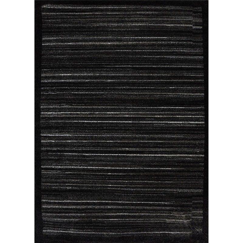 Jackson Elvis 80x150cm Turkish Made Rug - Charcoal
