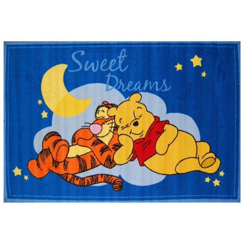 Winnie Sweet Dreams Egyptian Made 100x150cm Kids Rug