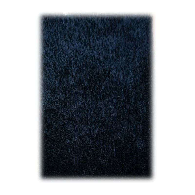 Valli 150x220cm Shaggy Rug - Carbon Black