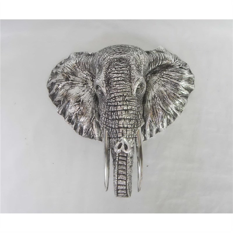 Elephant Head Plaque