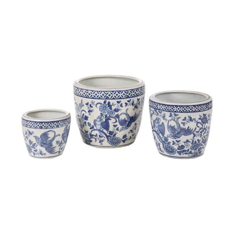 Hashir 3 Piece Ceramic Pot Set