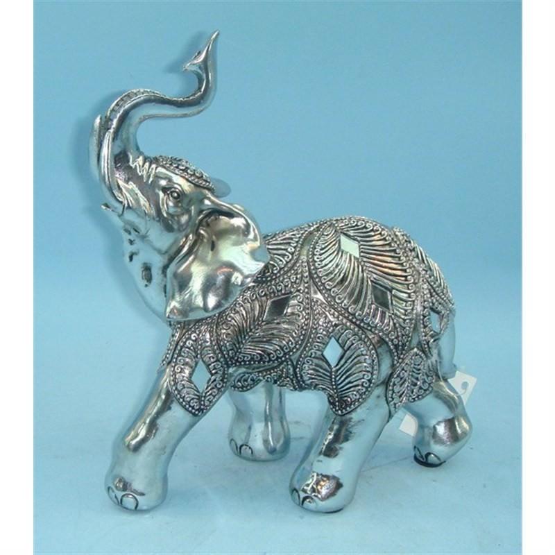 Polyresin elephant  18x9x20cm