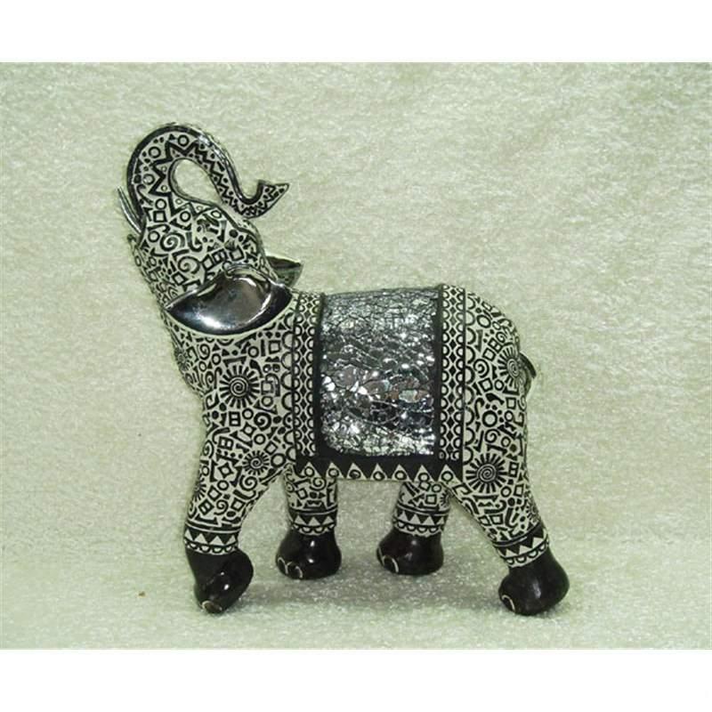 Elephant decor 19.6x8.4x22cm