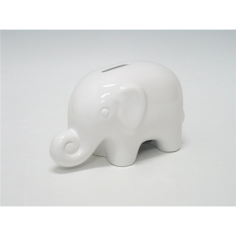 Elephant money box 16.5x8.5x10cm