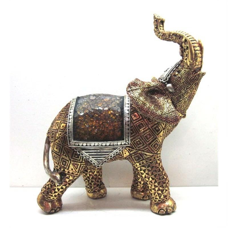 Elephant Decoration 22.3x11x26.5cm