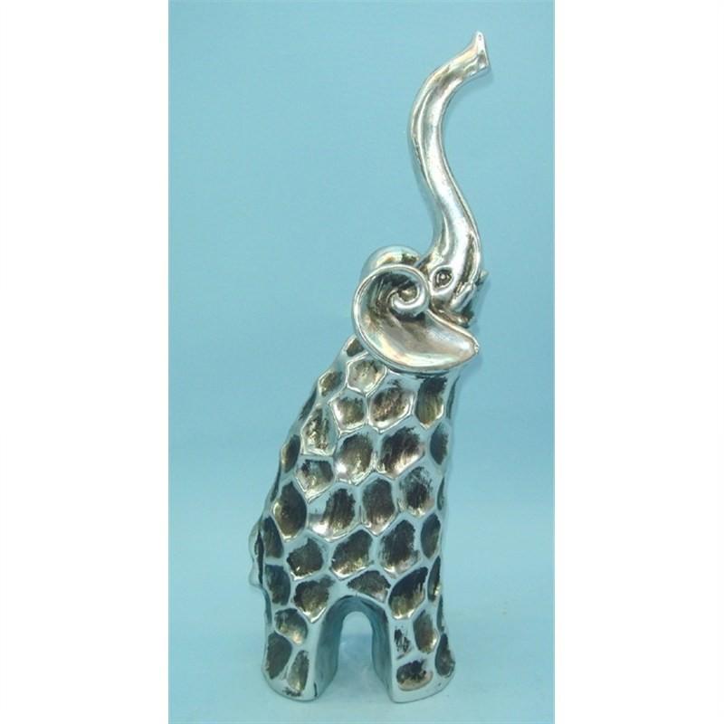 Porcelain Elephant 12x6.7x31cm
