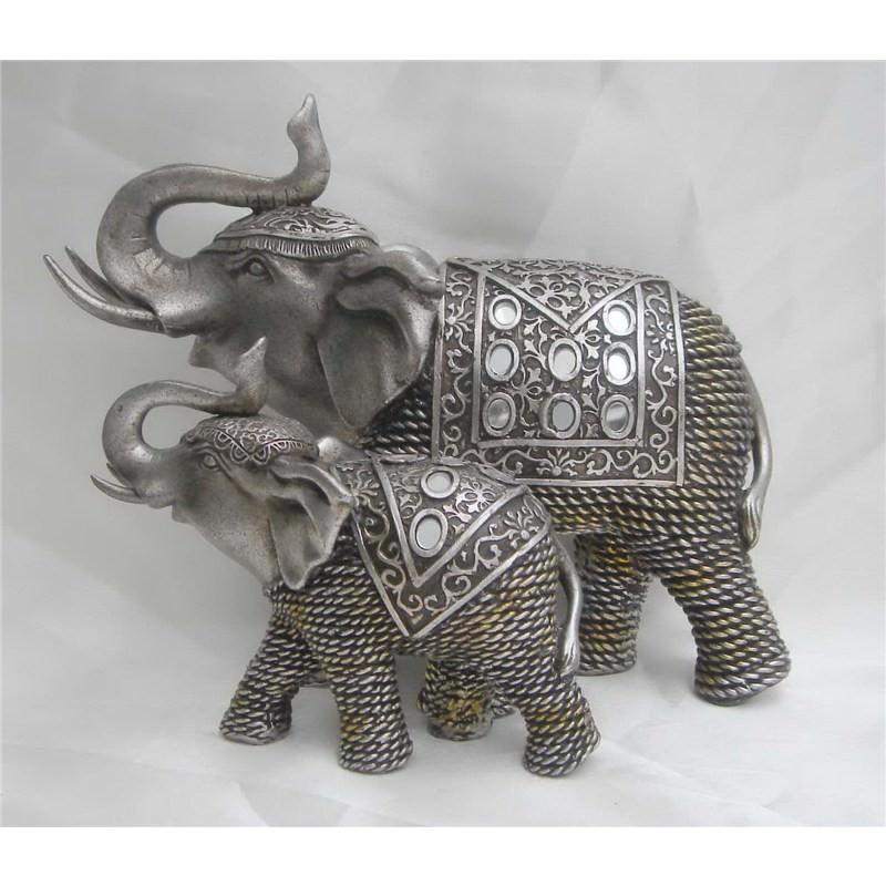 Elephant Head Plaque 25.5cm High