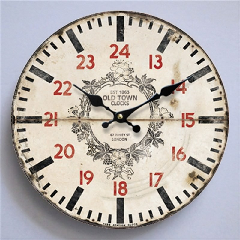 Old London Wall Clock 28.8cm