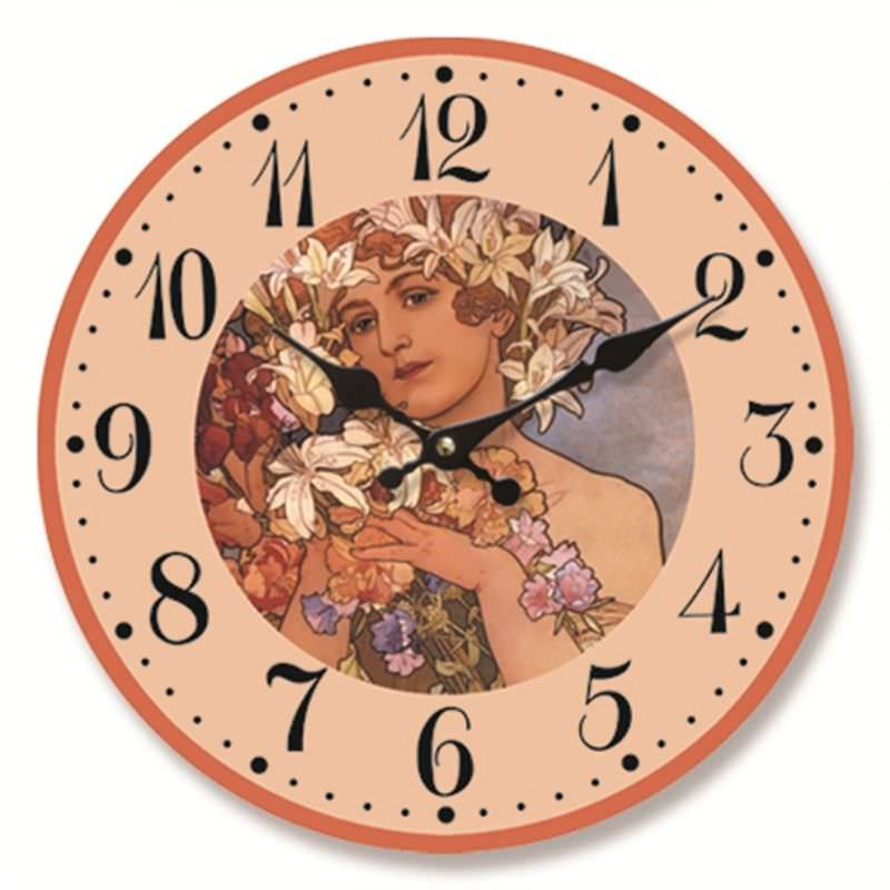 Angel clock 28.8cm