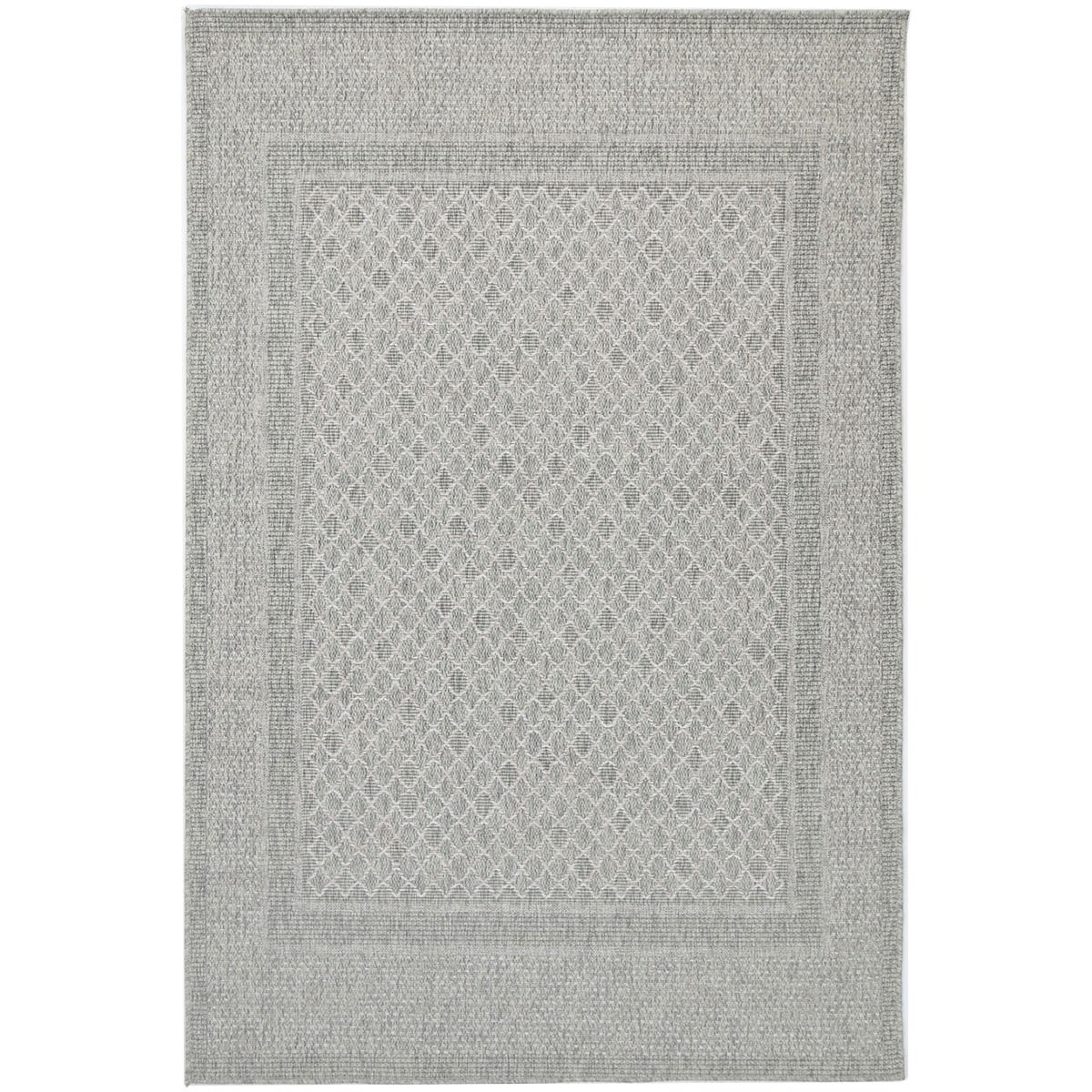 Polo Jada Modern Rug, 290x200cm, Light Grey