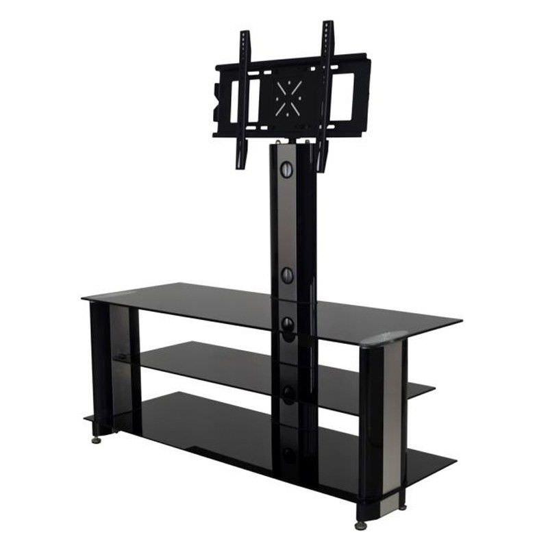 Digilex POW-RA014 Aluminium and Glass TV Stand - 125cm