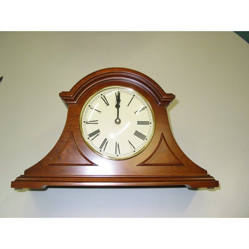 Wooden Mantle Clock - Westminster Chime - large