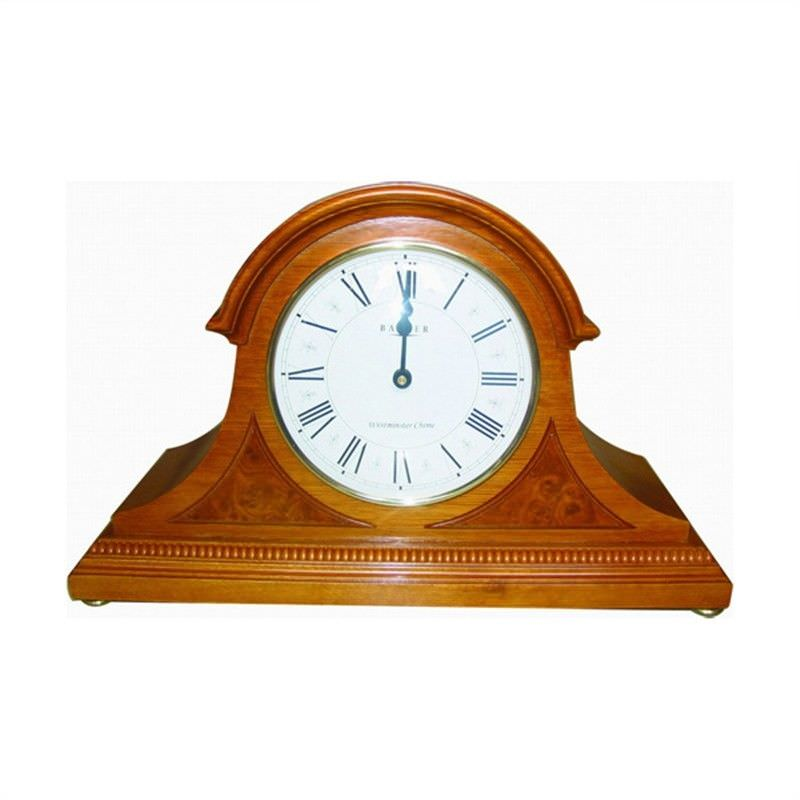 Wooden Mantle Clock - Westminster Chime - Extra Large