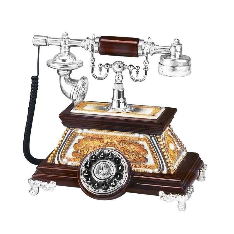 Porcelain Craft Telephone Set Hand Made