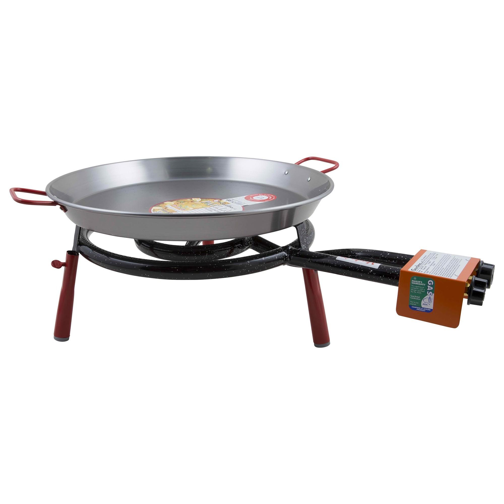 Garcima Valencia Paella Table Top Gas Burner Set