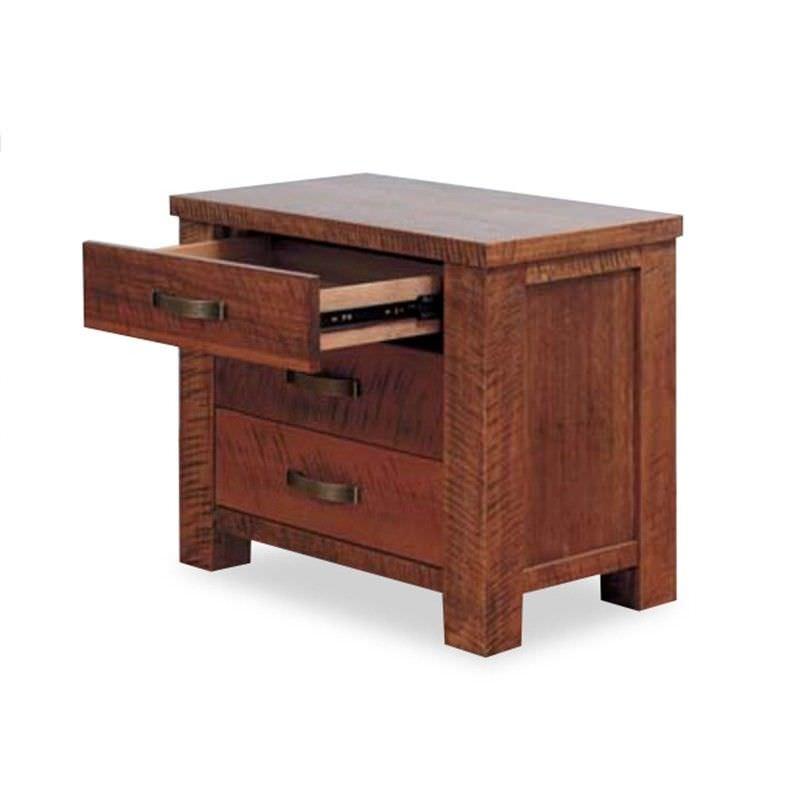 Pioneer Oak Bedside Table