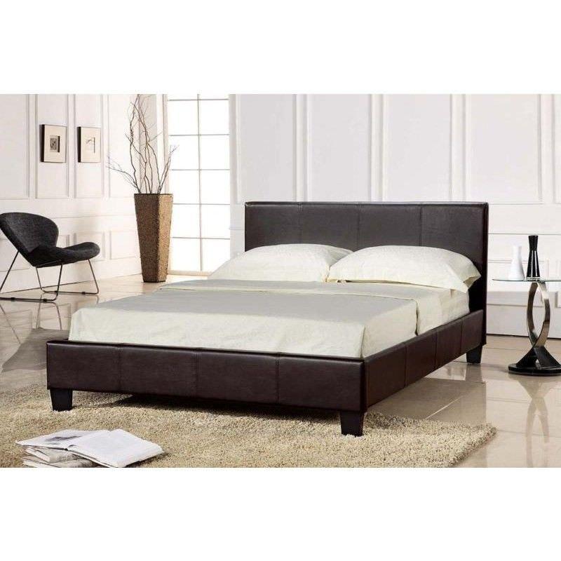 Prado Queen Bed in Dark Brown