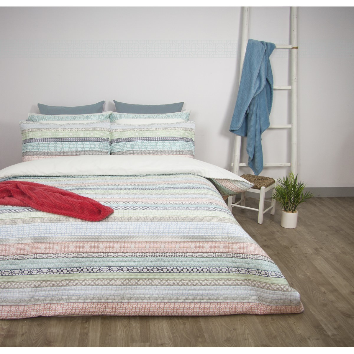 Apartmento Sibu Printed Quilted Quilt Cover Set, Queen