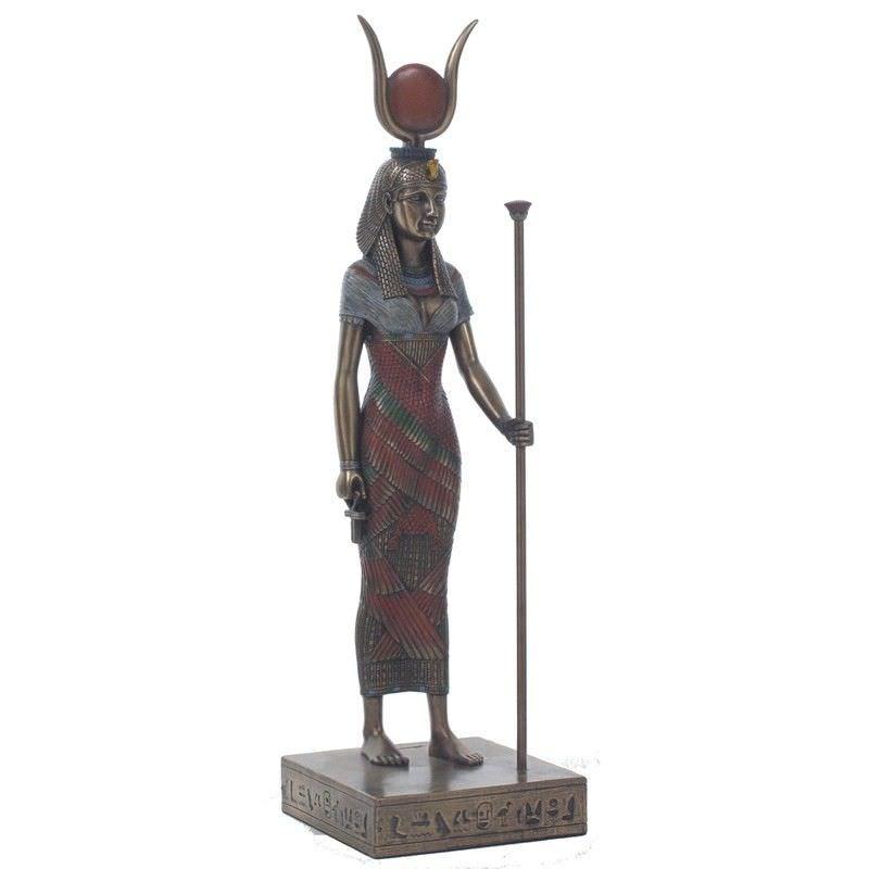 Egyptian Mythology Figurine, Standing Hathor