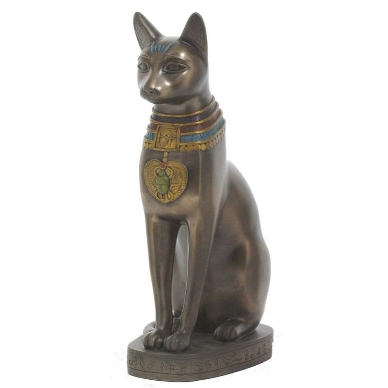 Egyptian Mythology Figurine, Bastet, Large