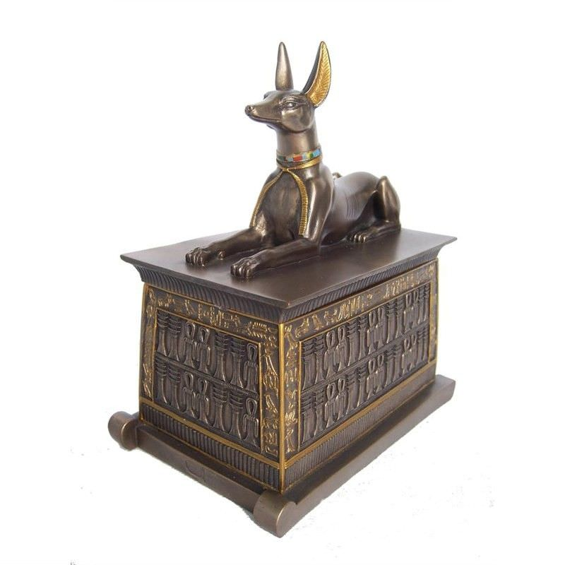 Anubis Trinket Box, Small