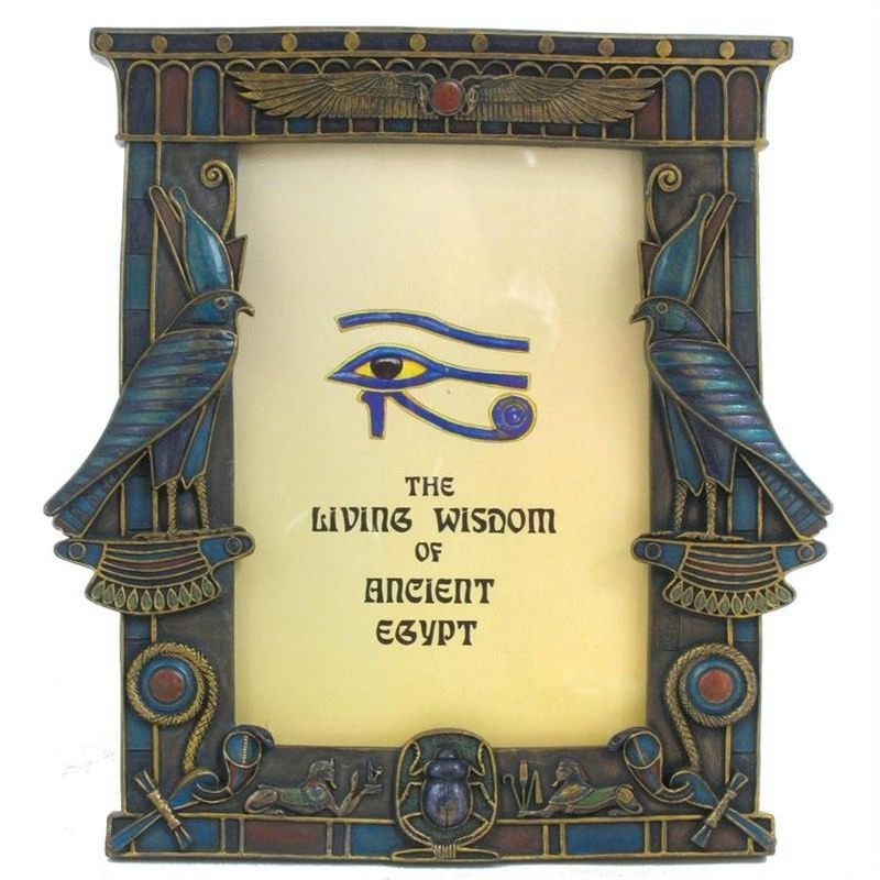 Cast Bronze Horus Photo Frame
