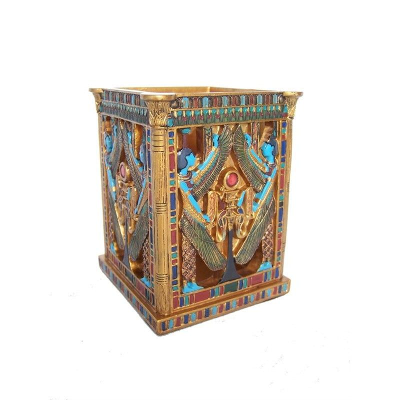 Veronese Egyptian Mythology Pen Holder, Isis