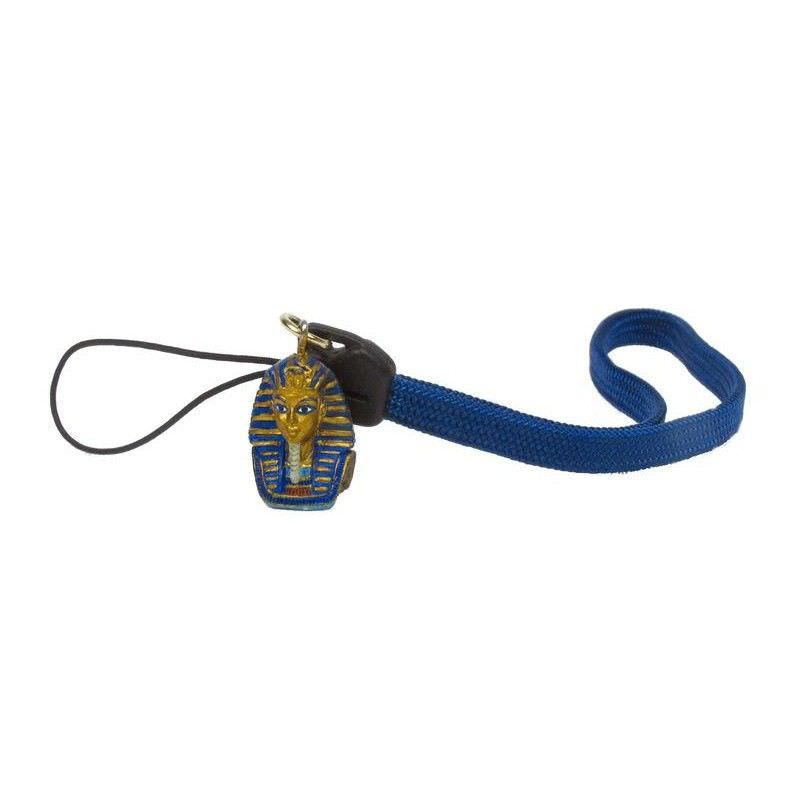 Cast Bronze King Tutankhamun Cellphone Strap