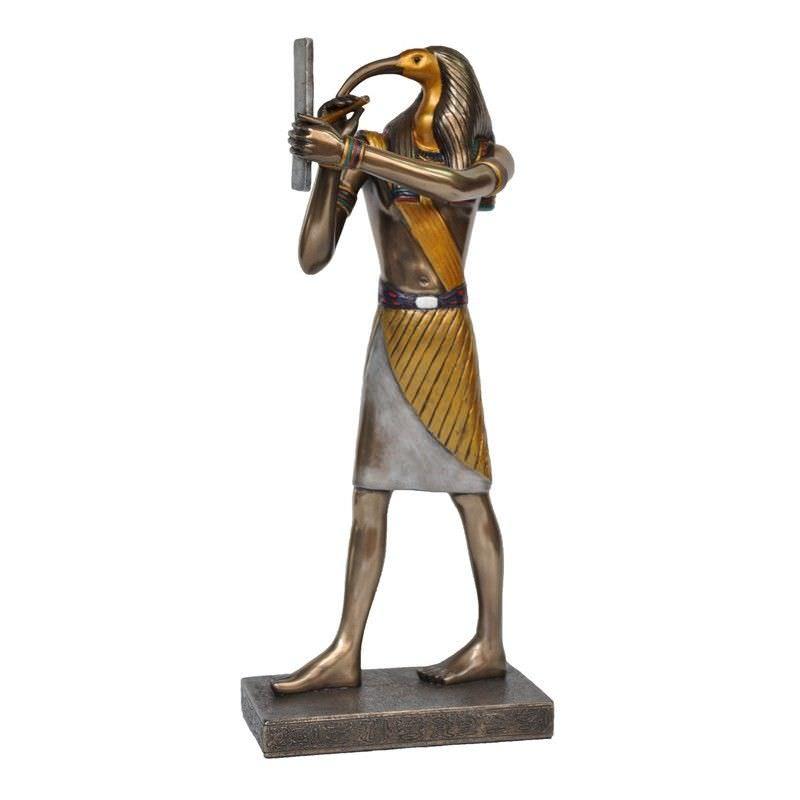 Egyptian Mythology Figurine, Standing Thoth