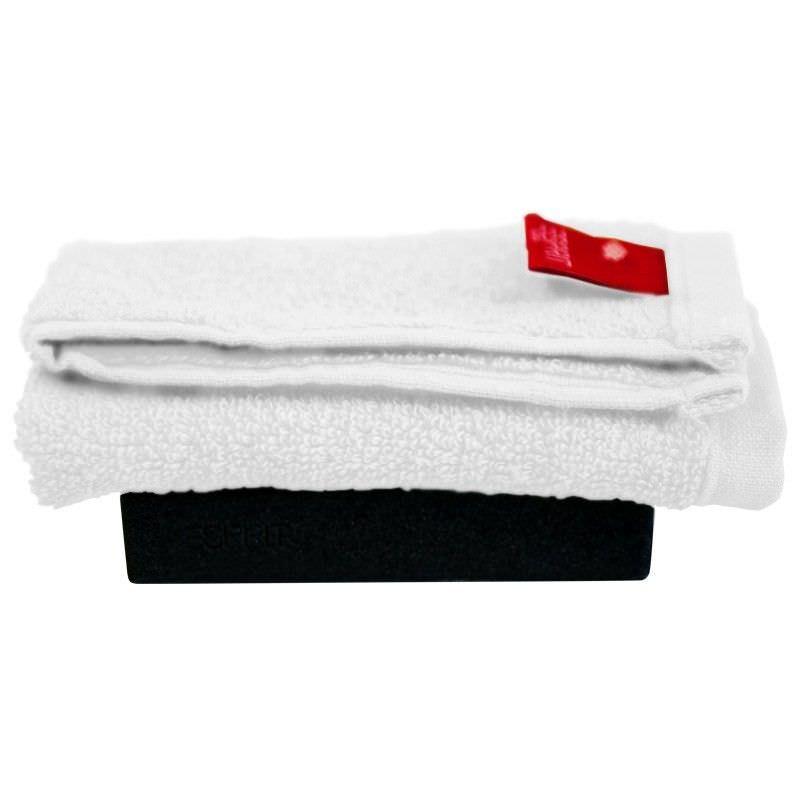 Esprit Home Splash Face Washer in White