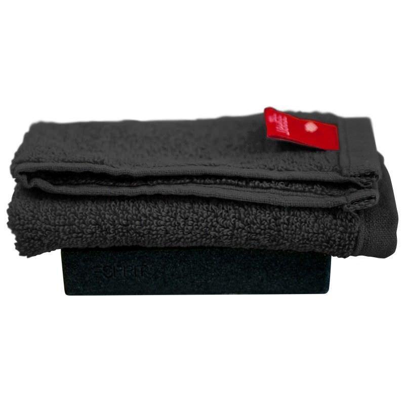 Esprit Home Splash Face Washer in Black