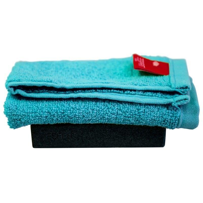Esprit Home Splash Face Washer in Aquatic Blue