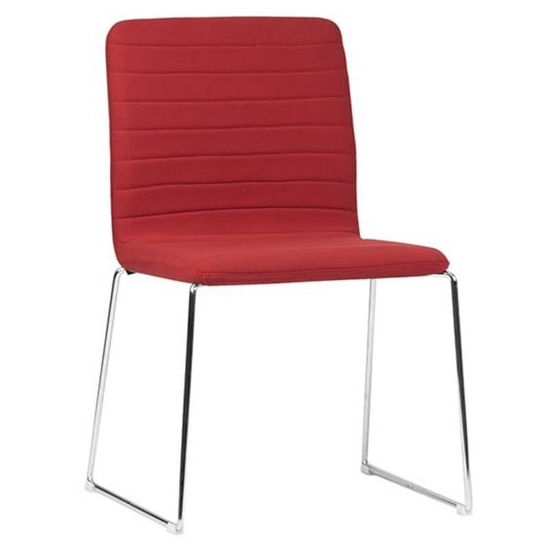 Raven Fabric Breakout Chair, Red