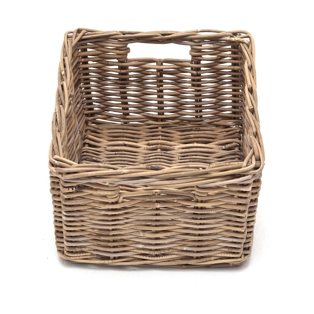 Kubu Rattan Basket, 42x32x24cm