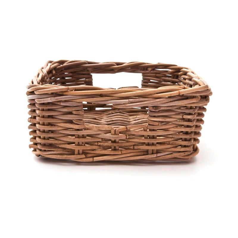 Kubu Rattan Basket, 27x28x13cm