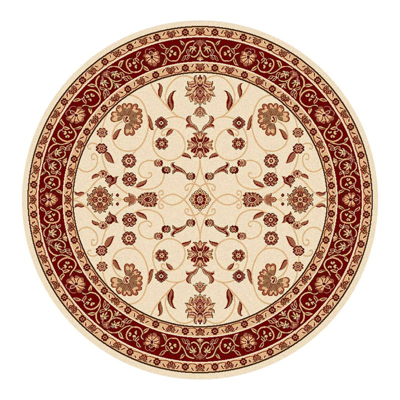 Cyropolis Jaslyn Oriental Round Rug, 200cm, Cream