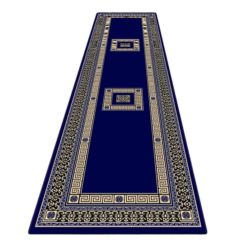 Cyropolis Darius Oriental Runner Rug, 80x300cm, Dark Blue