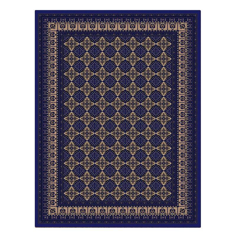 Cyropolis Roshan Oriental Rug, 80x150cm, Dark Blue