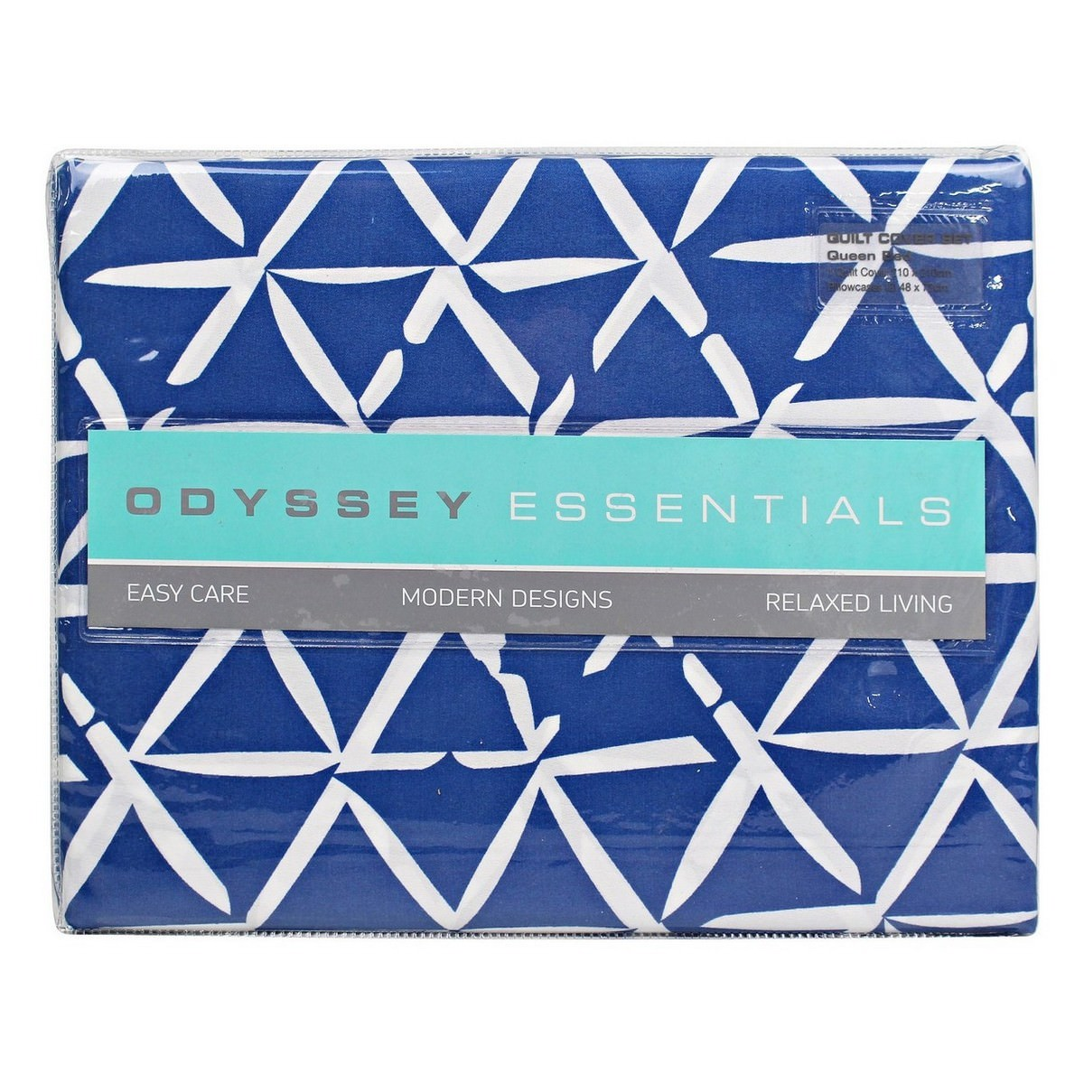 Odyssey Living Kuta Microfibre Quilt Cover Set, Queen