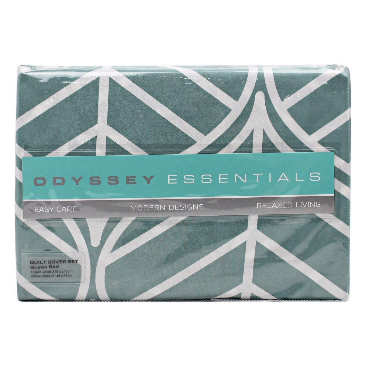 Odyssey Living Gatsby Microfibre Quilt Cover Set, Queen
