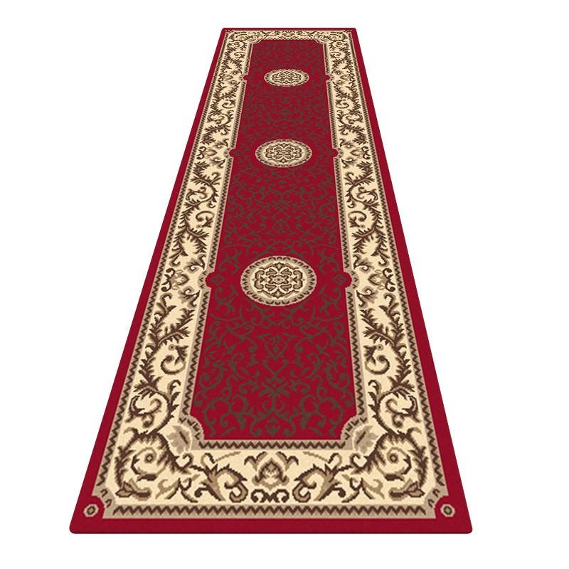Legacy Emori Oriental Runner Rug, 80x300cm, Red