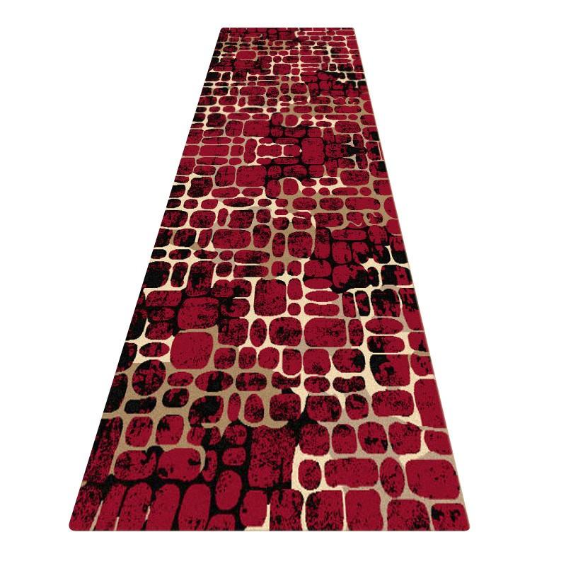 Legacy Yukon Modern Runner Rug, 80x300cm, Red