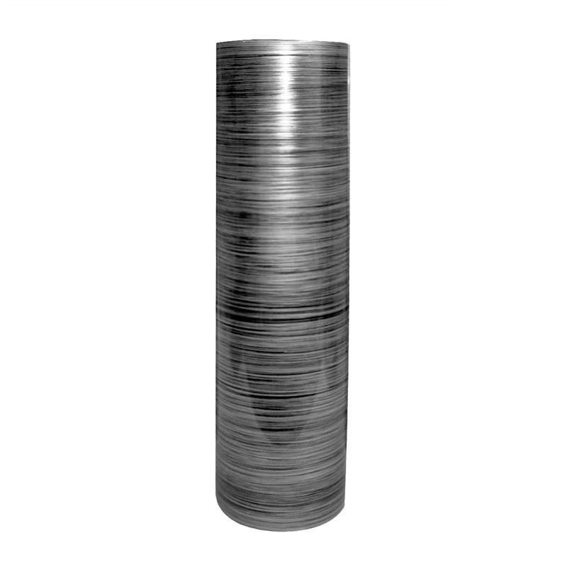 Mazi Medium Lacquered Fiberglass Vase - Grey