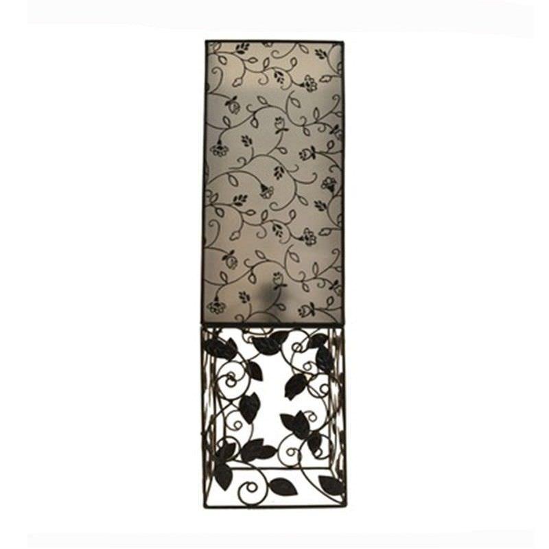 Rovan 63cm Floral Black Table Lamp
