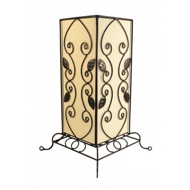 Rovan 41cm Cream Table Lamp