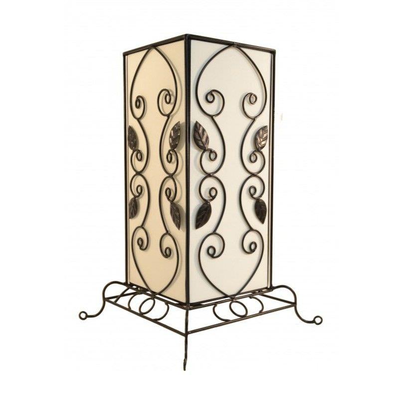 Rovan 41cm White Table Lamp