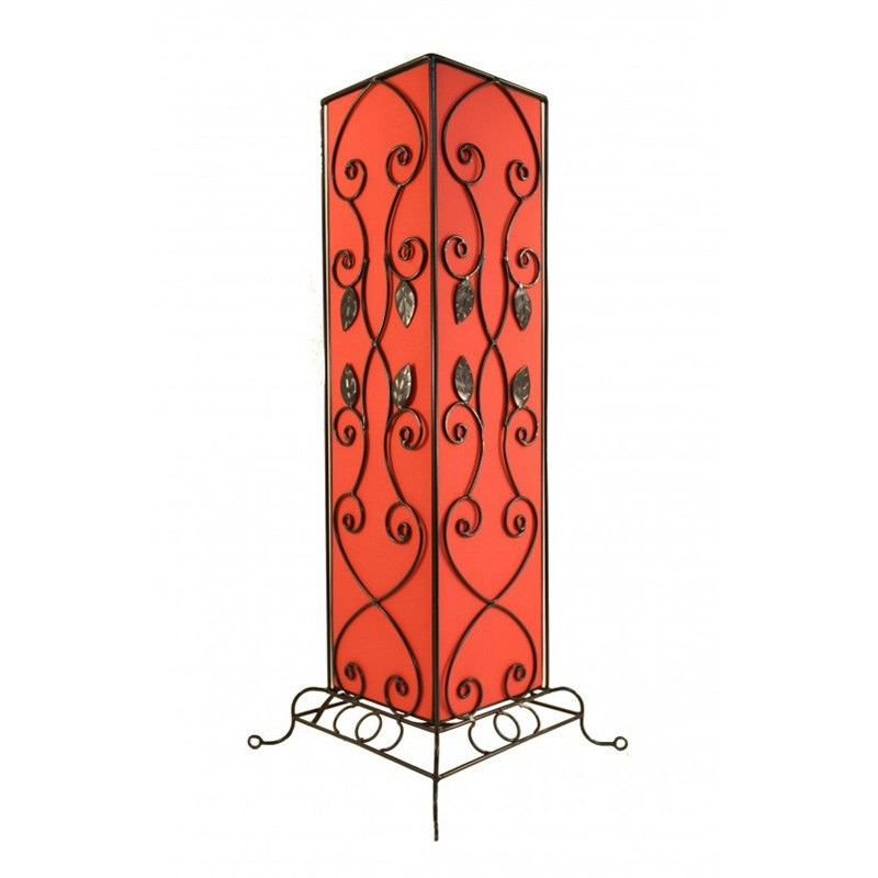 Rovan 63cm Red Table Lamp