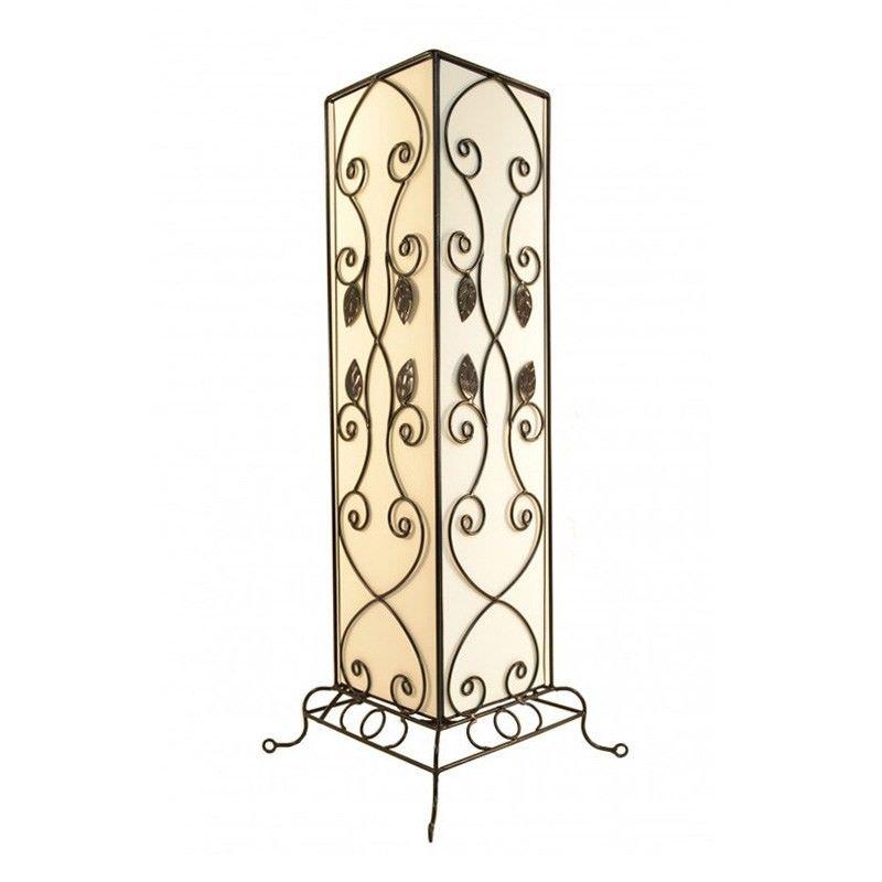 Rovan 63cm White Table Lamp