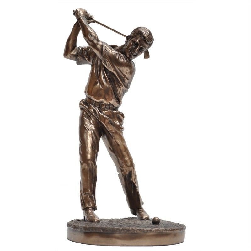 Golf Player Figurine, Swing