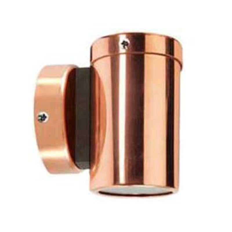 Bronte Copper IP54 Outdoor LED Wall Light, 240V